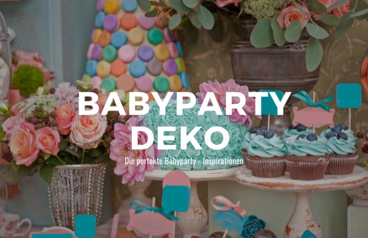 Babyparty Deko