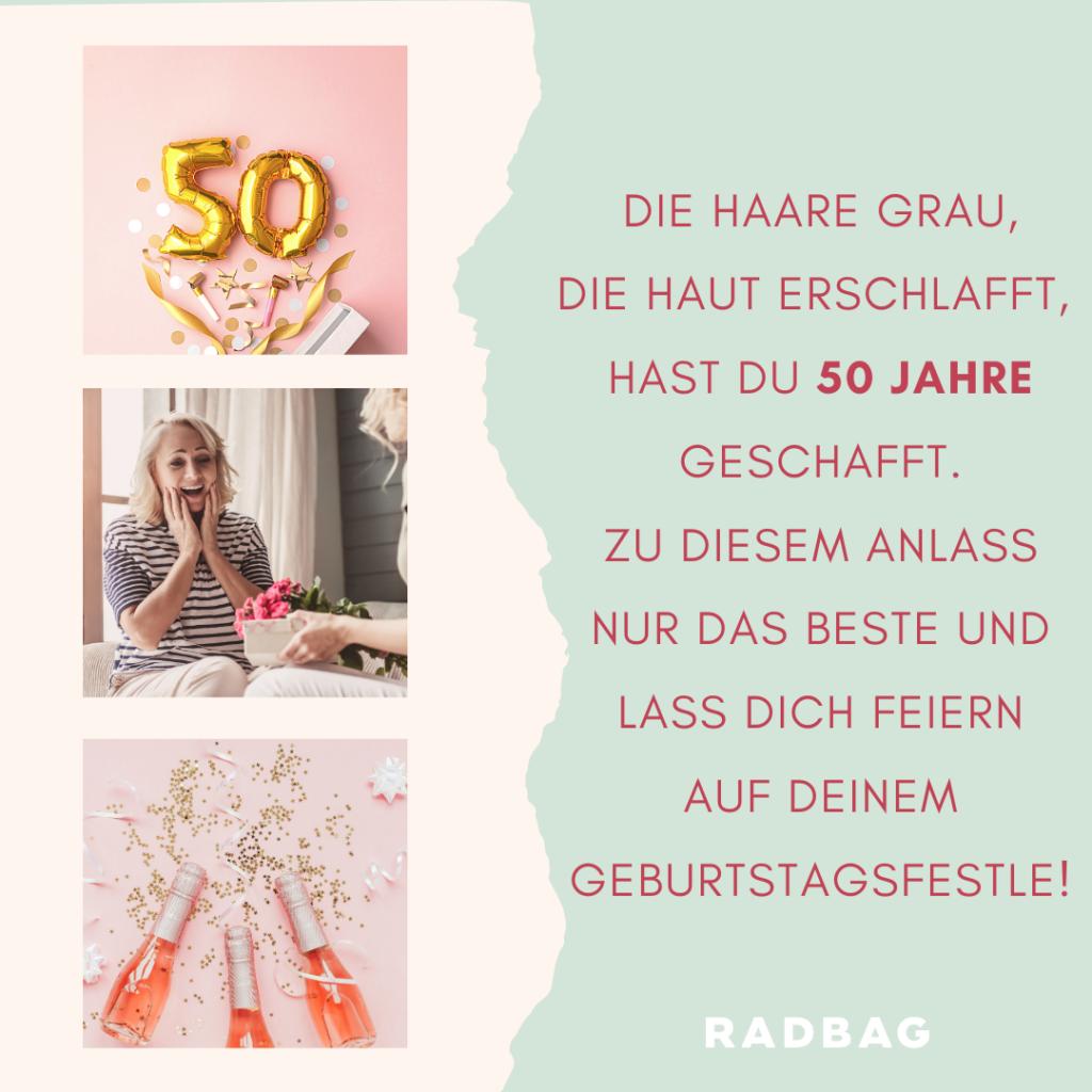 Geburtstagssprüche für männer 50 jahre