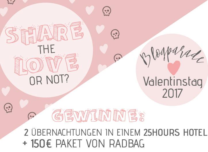 Die Blogparade zum Valentinstag 2017