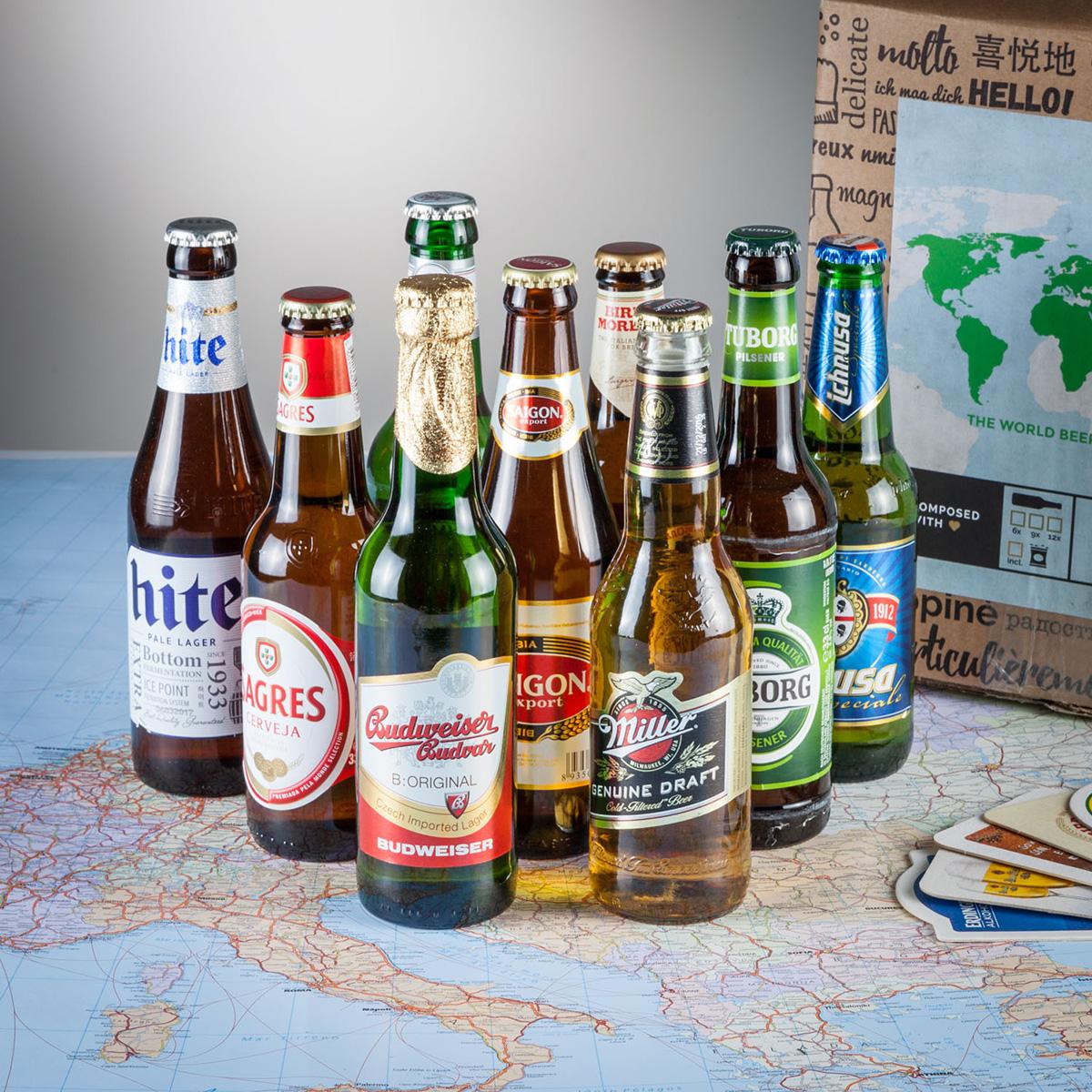 Vorschaubild von Bier Weltreise Geschenkbox