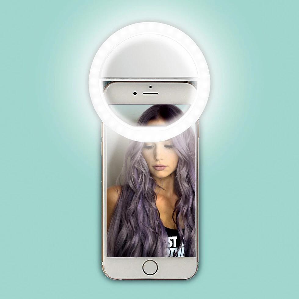 Selfie Licht für Smartphone oder Laptop