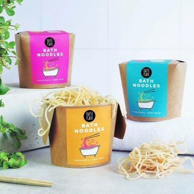 Bade-Nudeln mit Asien-Flair