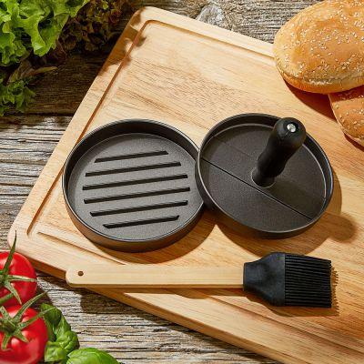 BBQ Burger-Presse mit Zubehör
