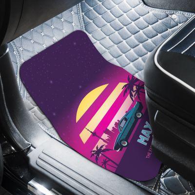 Auto Fußmatte mit 2 Zeilen