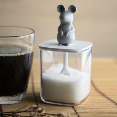 Maus Salz- oder Zuckerbehälter