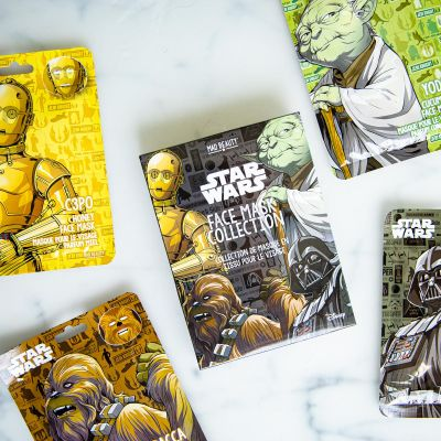 Star Wars Gesichtsmasken 4er-Set
