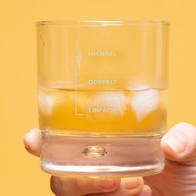 Whisky Glas mit Gravur