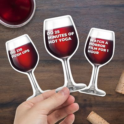 100 Workouts für ein Glas Wein