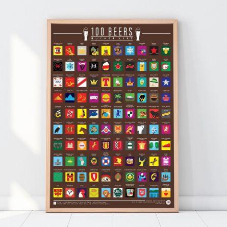 Rubbel-Poster 100 Biere