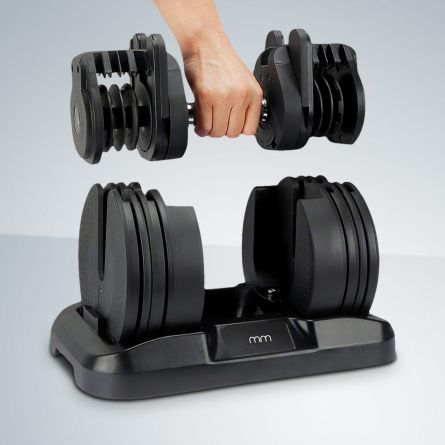 Hantel-Set mit einstellbarem Gewicht