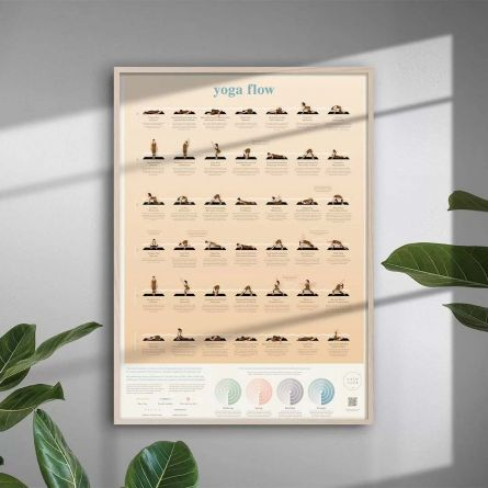 Yoga Flow Poster