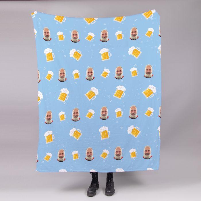 Kleine Decke mit Multi-Gesicht für Männer