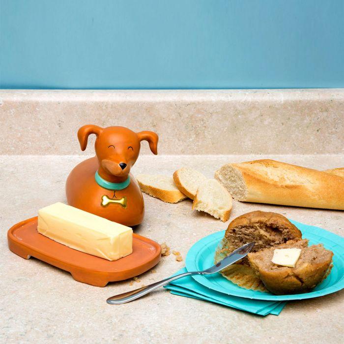 Hund Butterdose