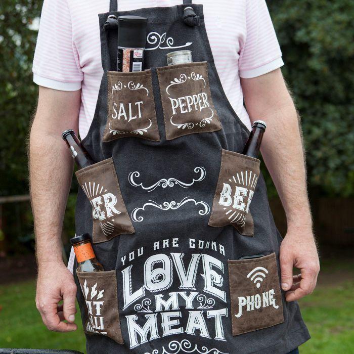 Grillschürze You Are Gonna Love My Meat