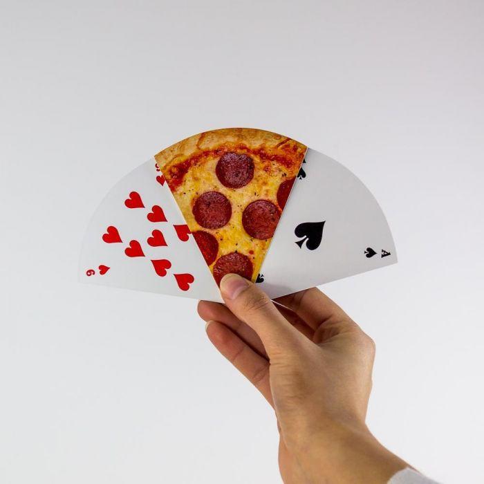 Pizza Spielkarten
