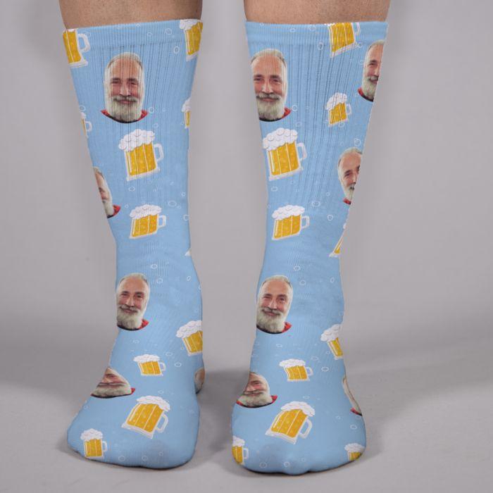 Socken Multi-Gesicht für Männer