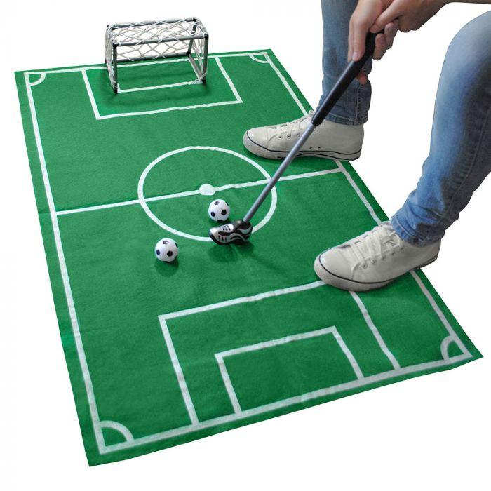 Fußball-Set für die Toilette