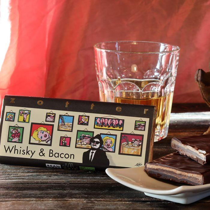 Zotter Schokolade Whisky & Bacon