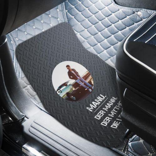 Auto Fußmatte mit Bild und Text