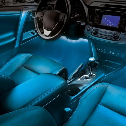 Atmosphärische LED-Beleuchtung fürs Auto