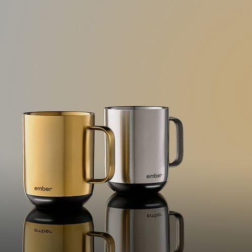 Ember Temperaturgesteuerte Tasse 2 aus Metall