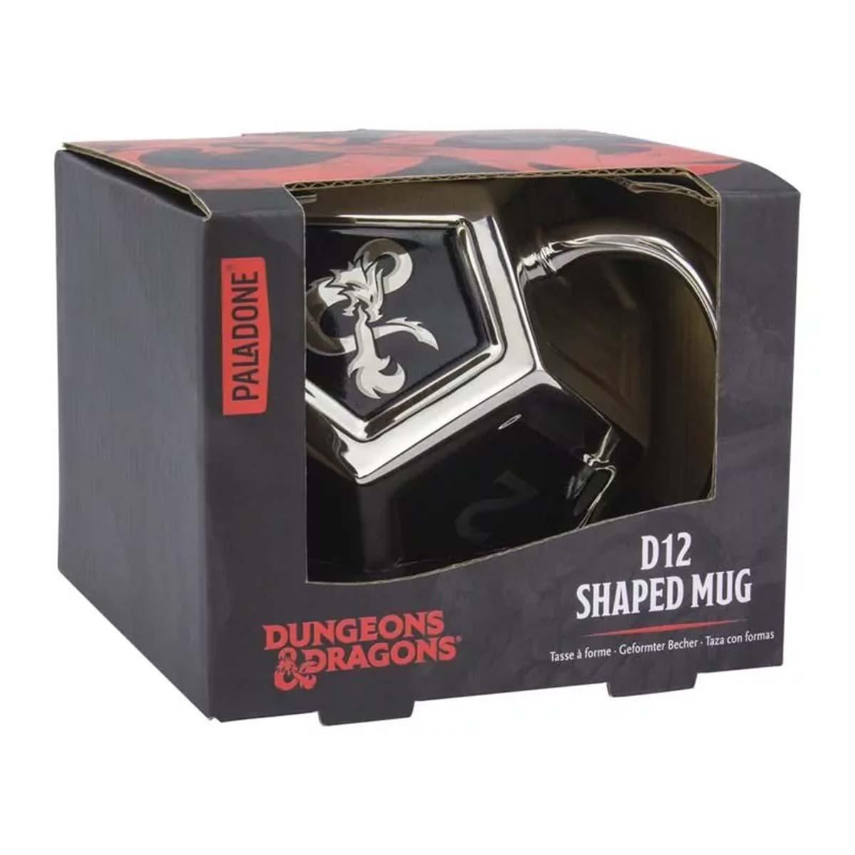 Dungeons & Dragons D12 Tasse