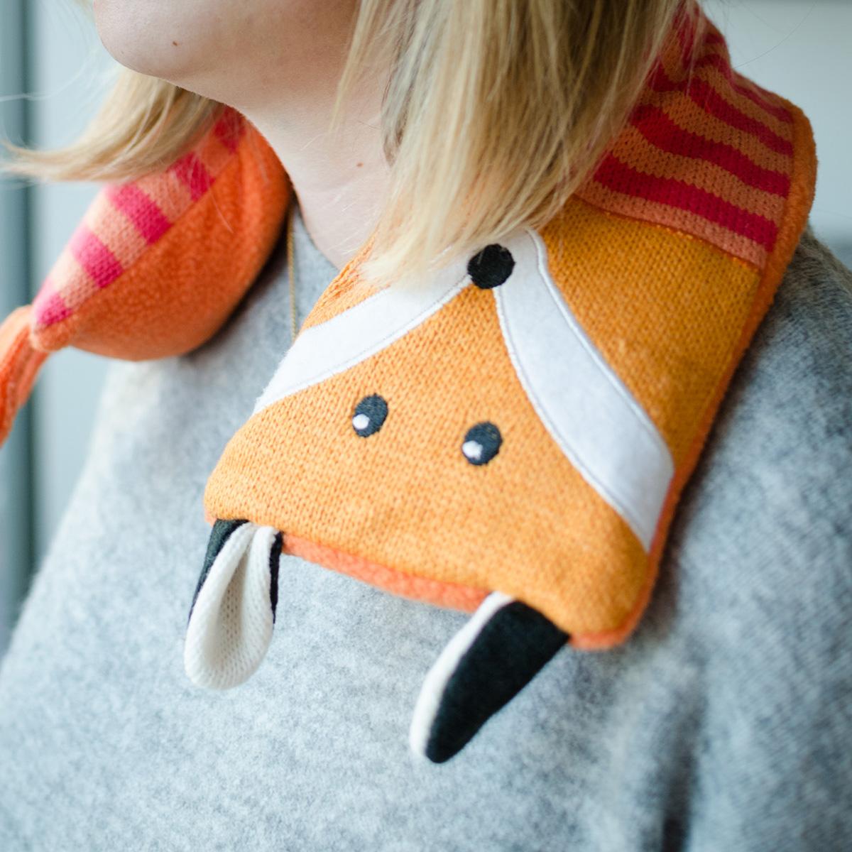 Fuchs Wärmekissen für den Nacken