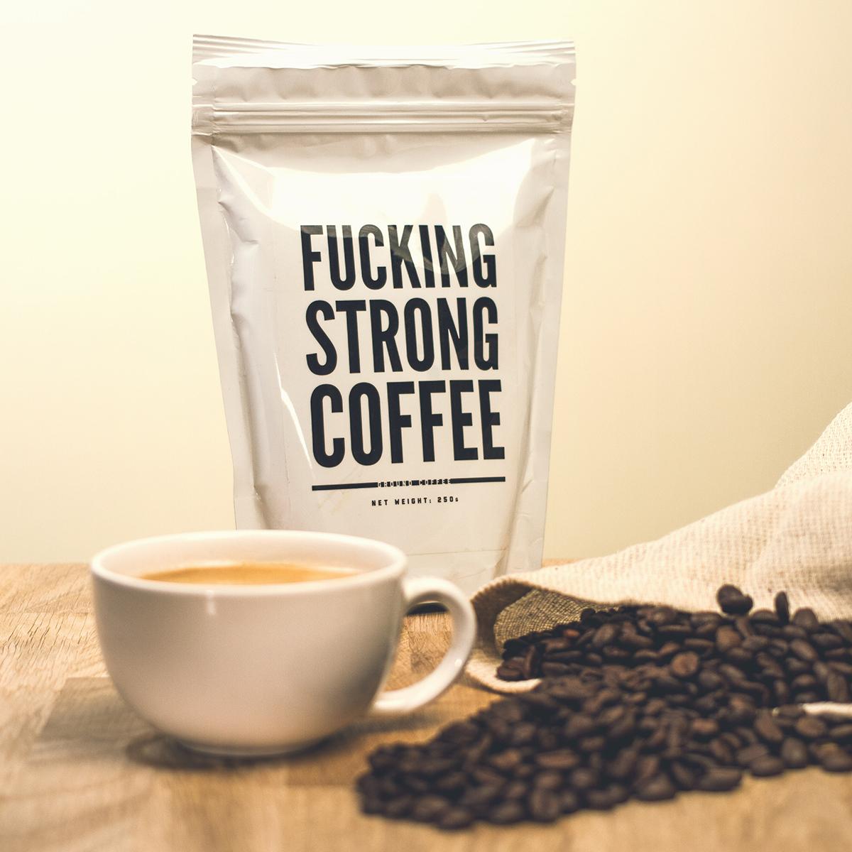 Verdammt starker Kaffee