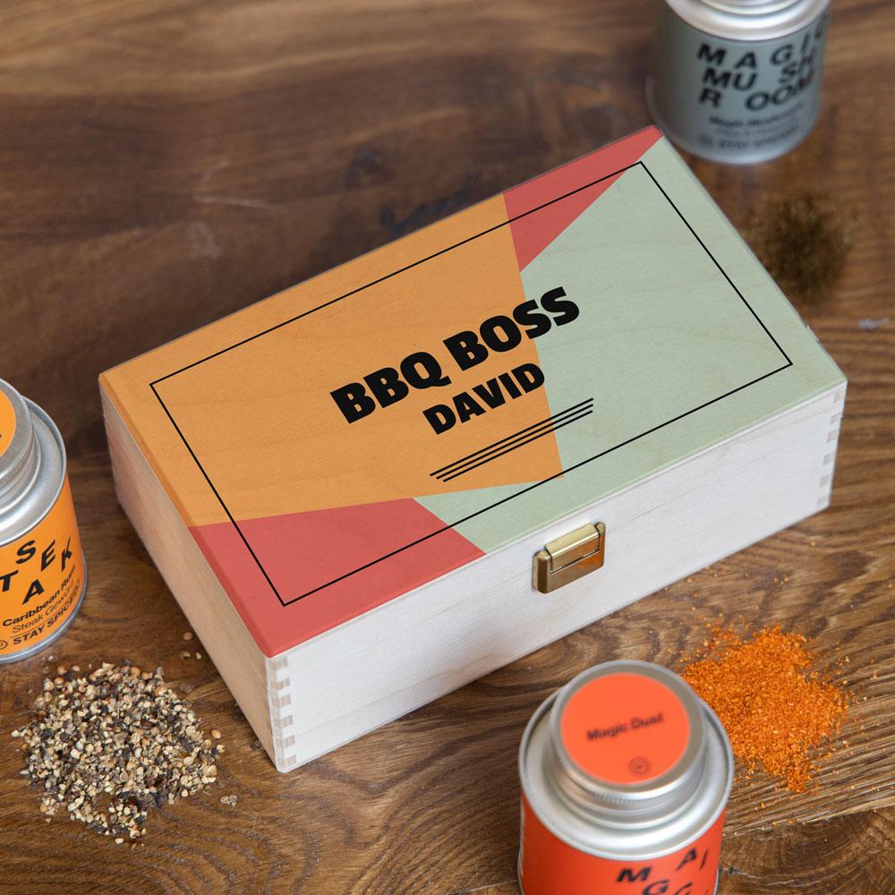 Gewürzbox Set mit Text