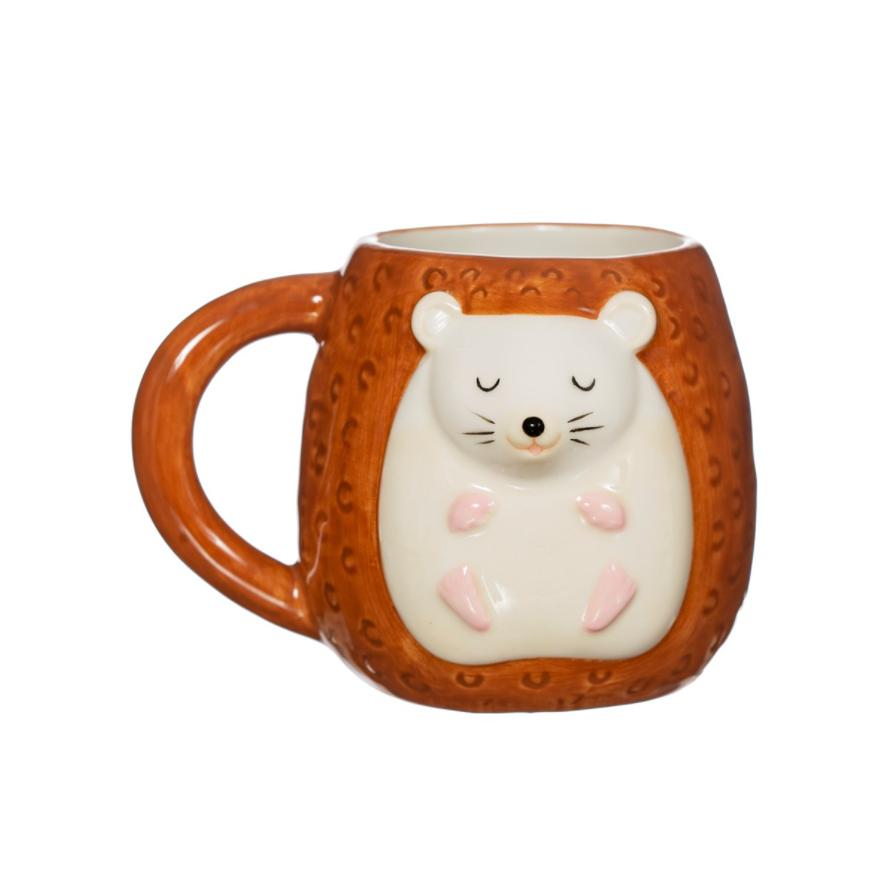 Die Tasse mit dem Igel