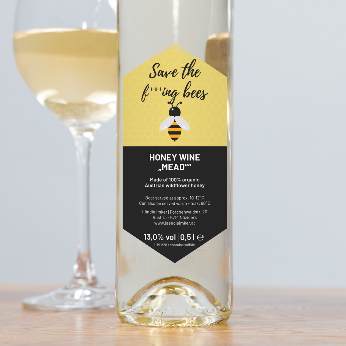 Honigwein Save The Bees