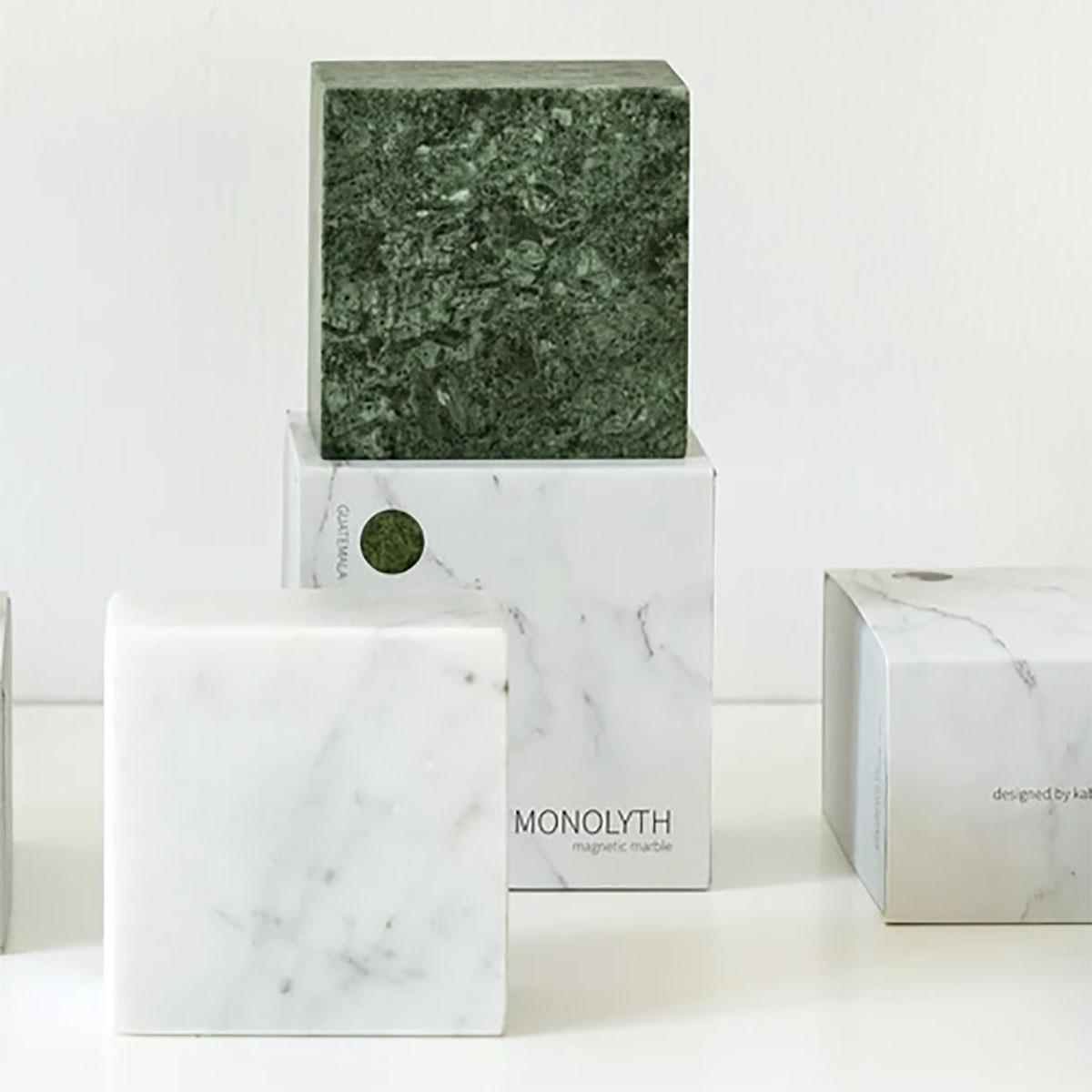 Monolyth Magnetische Marmorquader