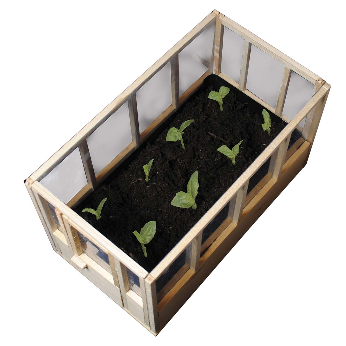 Mini-Haus für Pflanzen