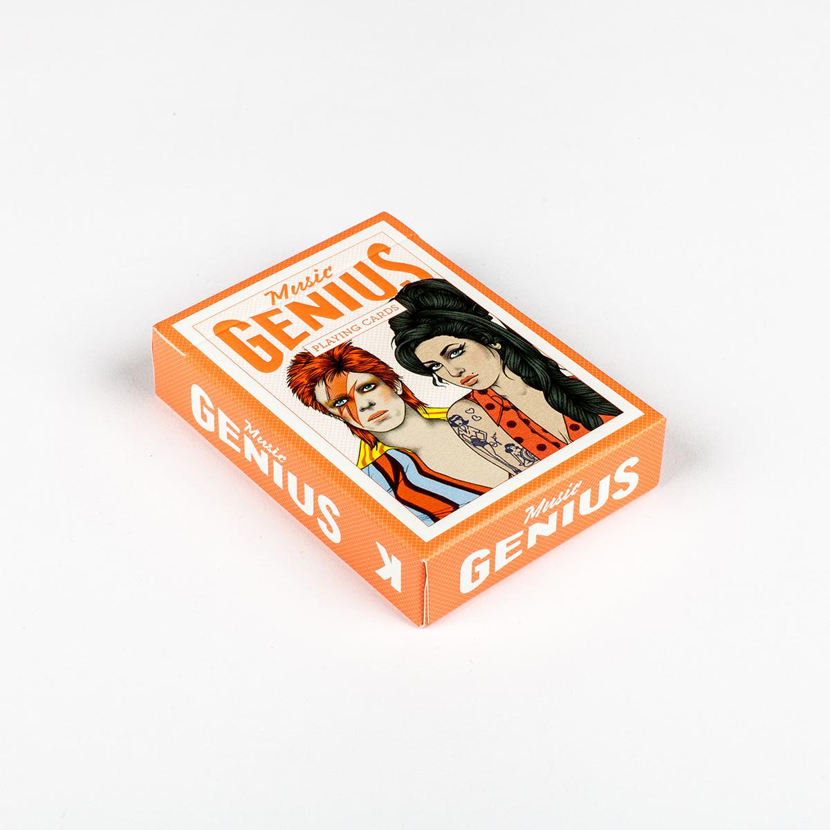 Musik-Stars Spielkarten