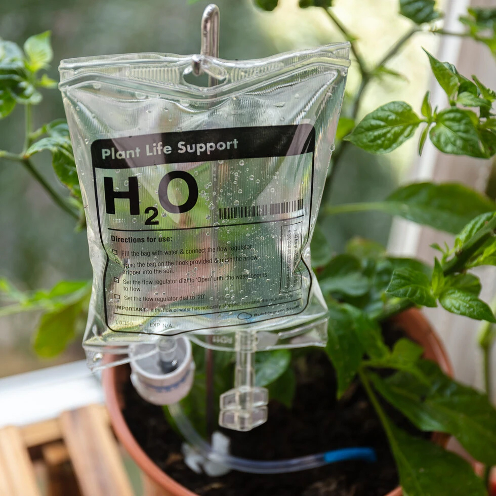 Notfall-Bewässerung für Pflanzen