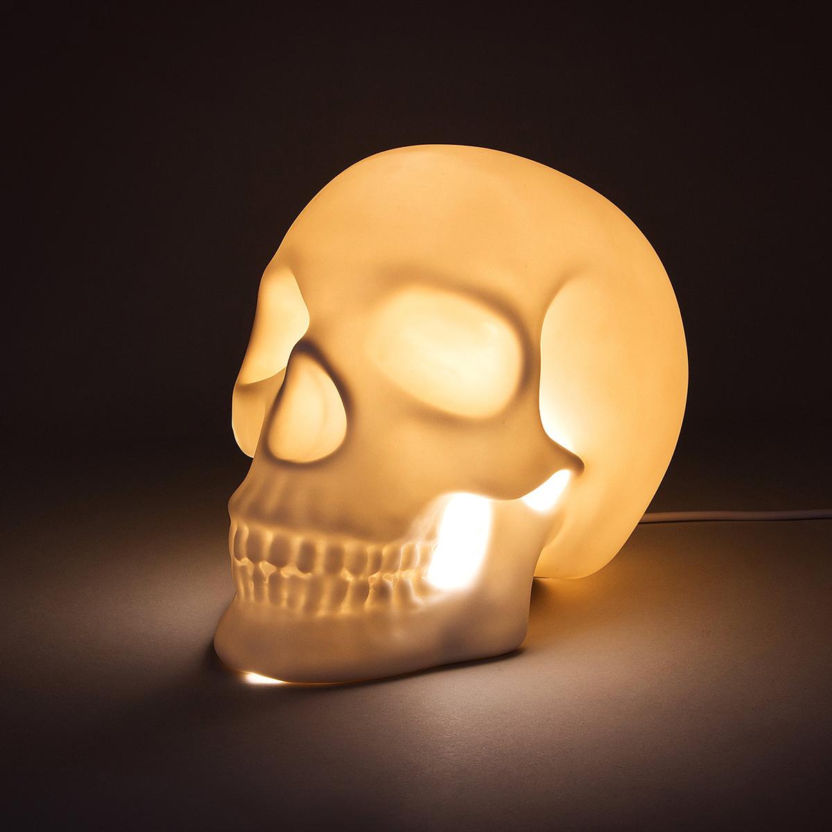Totenschädel Lampe