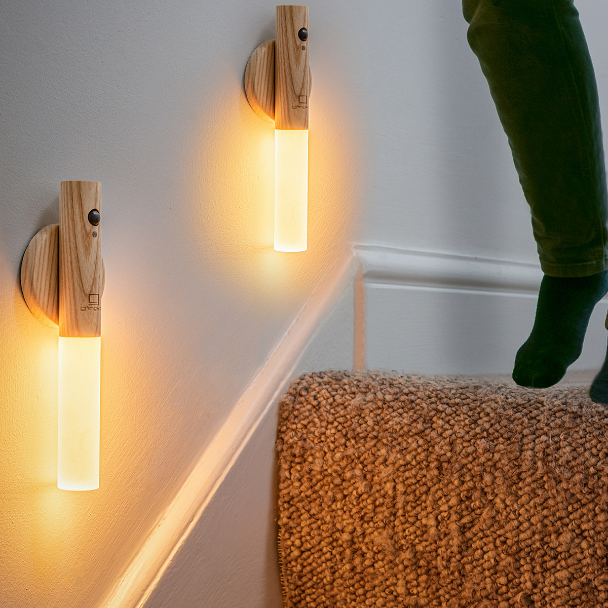 Clevere Stab-Lampe