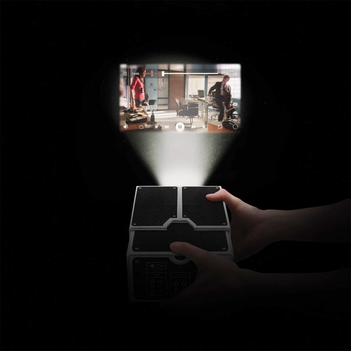 Vorschaubild von Smartphone Projektor aus Karton