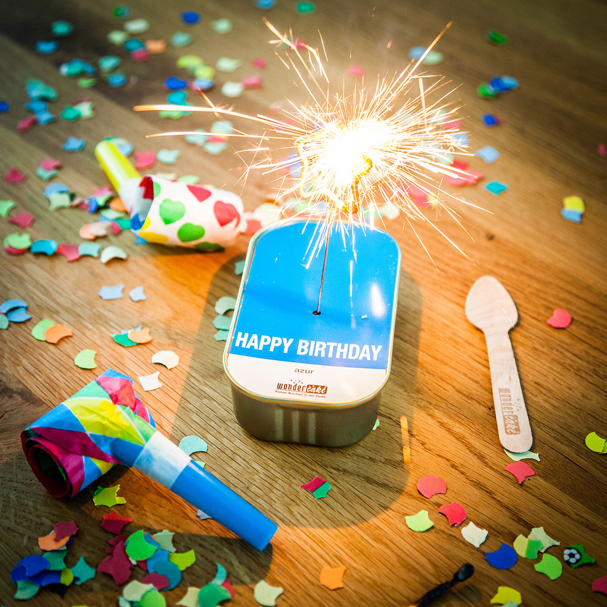 Wondercakes - Der feine Kuchen aus der Dose