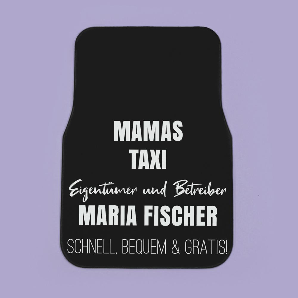 Geschenke für Mama personalisierbare Auto Fußmatte