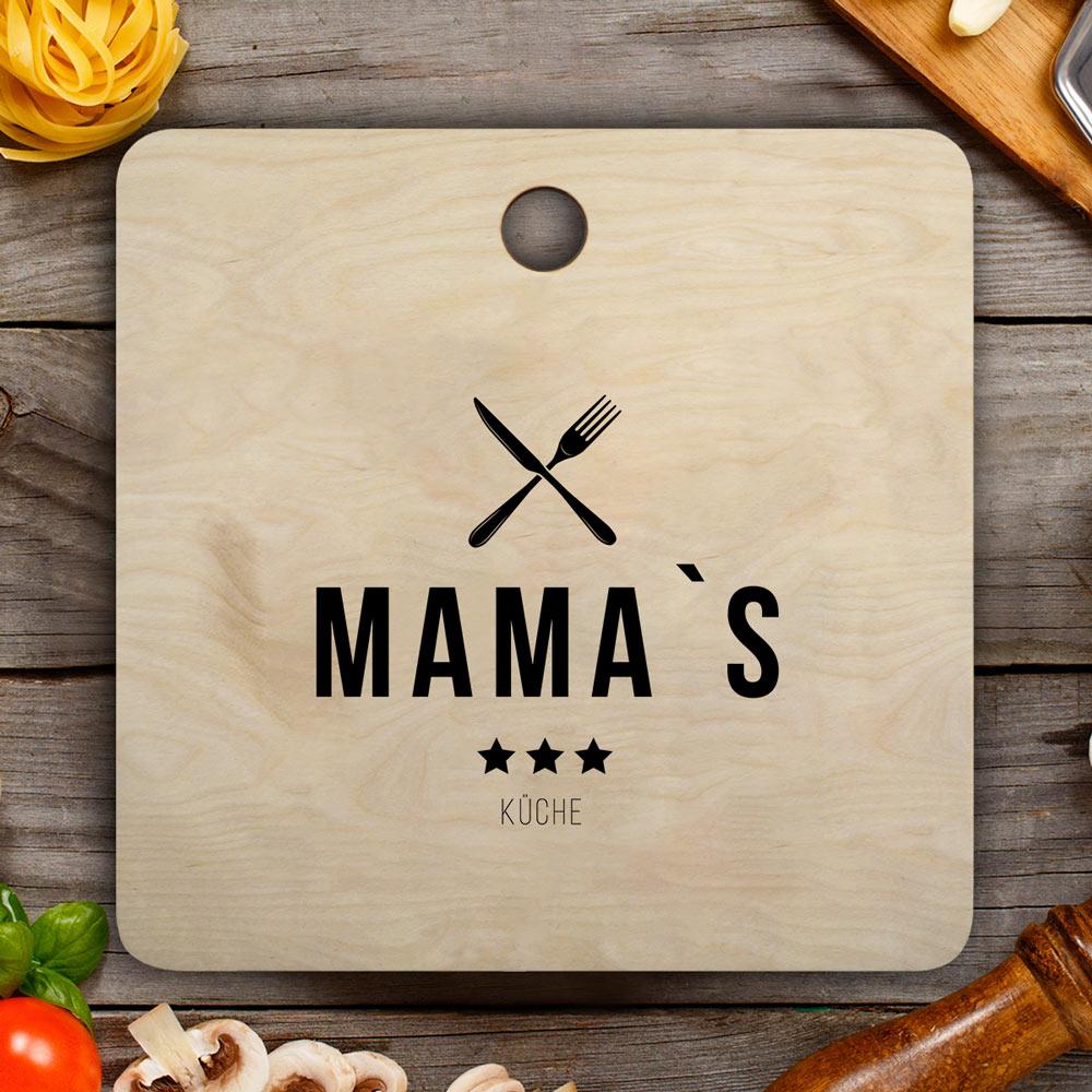 Geschenke für Mama Schneidebrett Restaurant