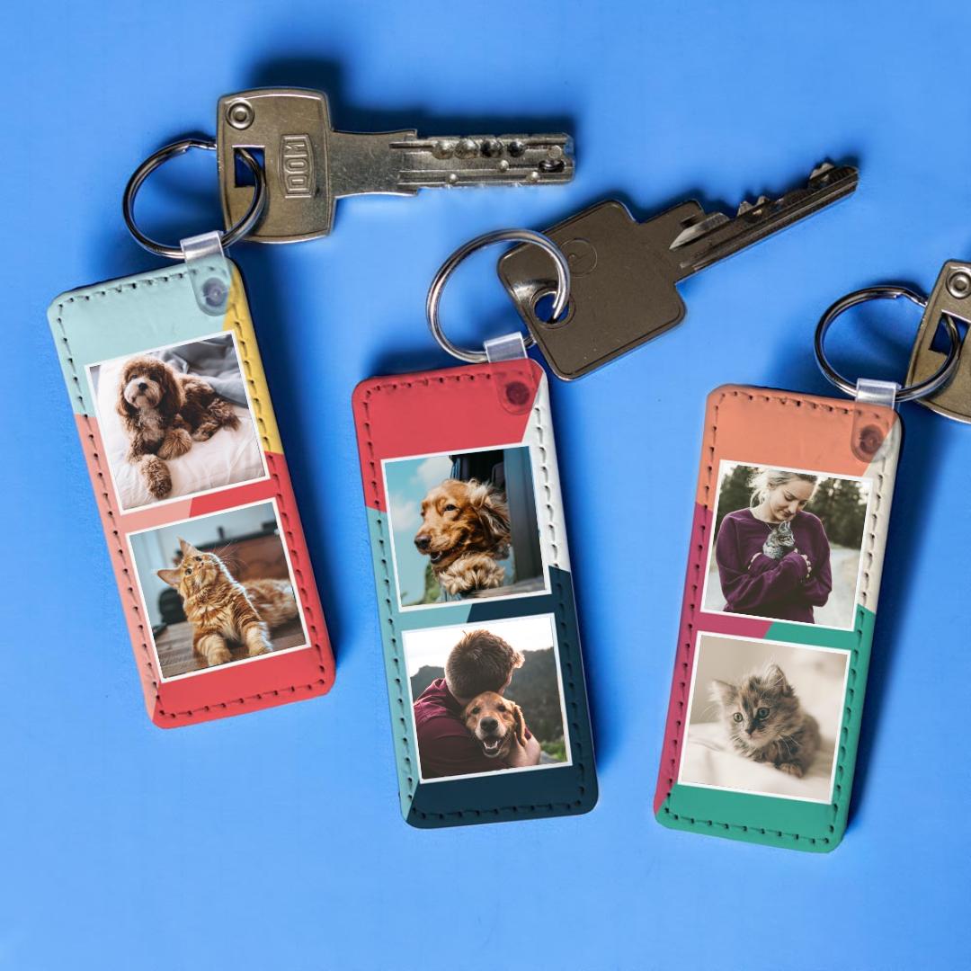 Tiergeschenke personalisierbarer Schlüsselanhänger