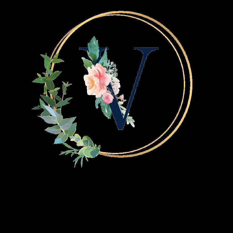 Pralinenbox mit Monogramm - V