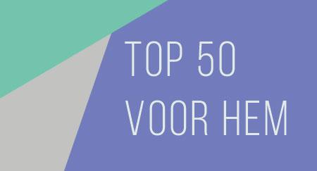 Top 50 voor hem