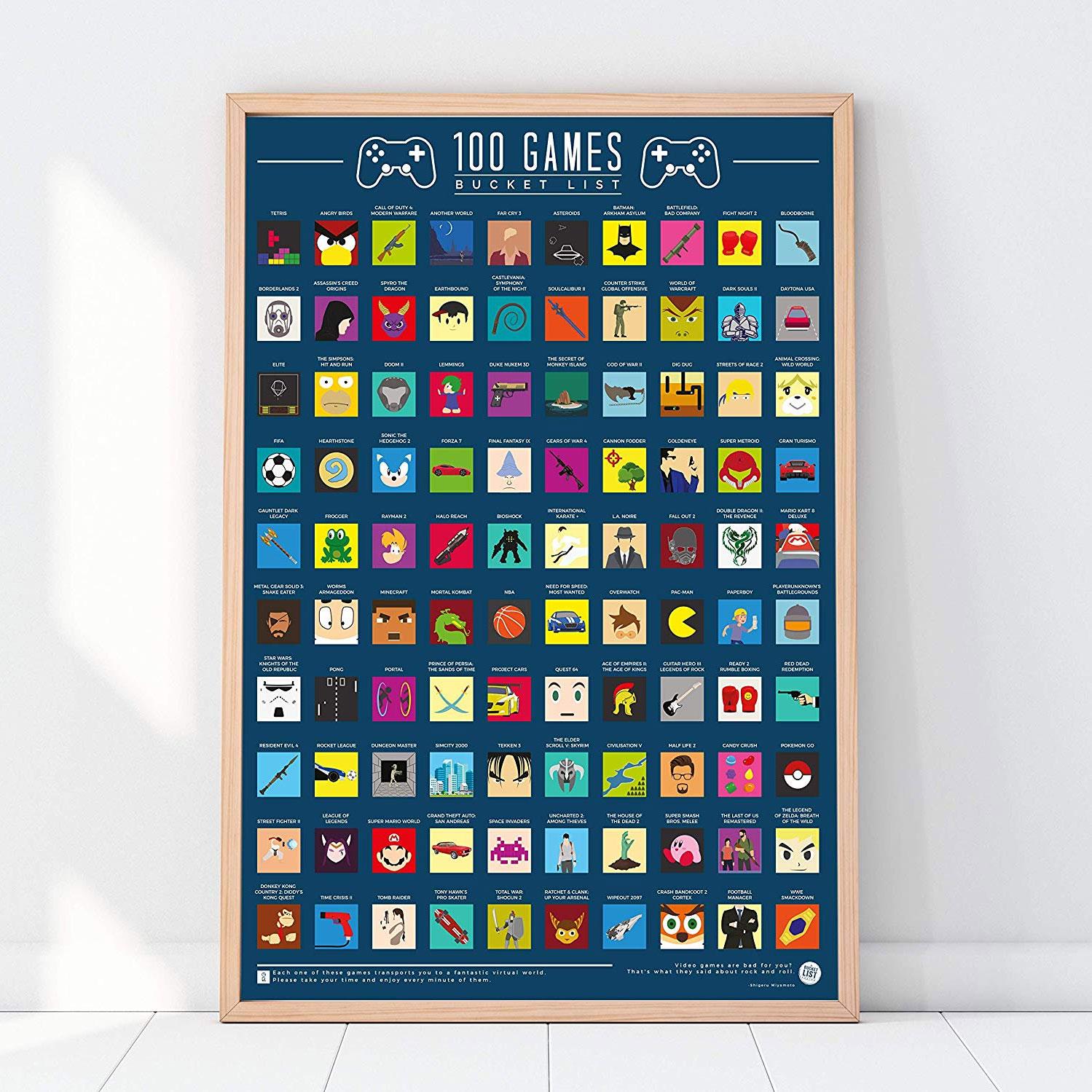 Rubbel Poster 100 Spiele