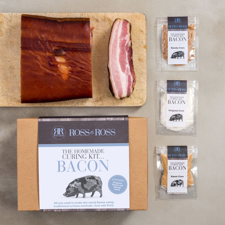 Ross & Ross Homemade Pökel-Sets - Speck (Bacon) Set