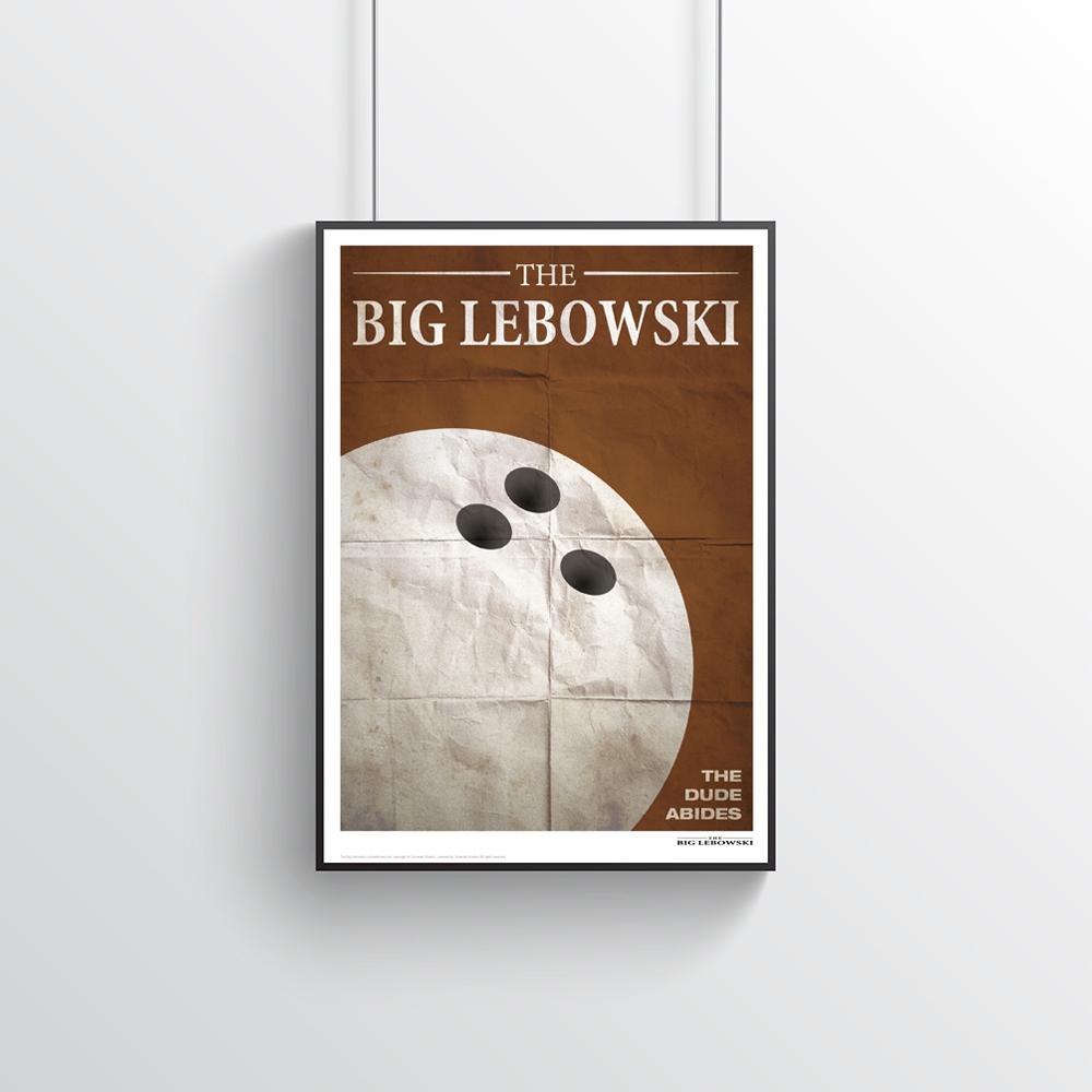 The Big Lebowski - Filmzitate Poster