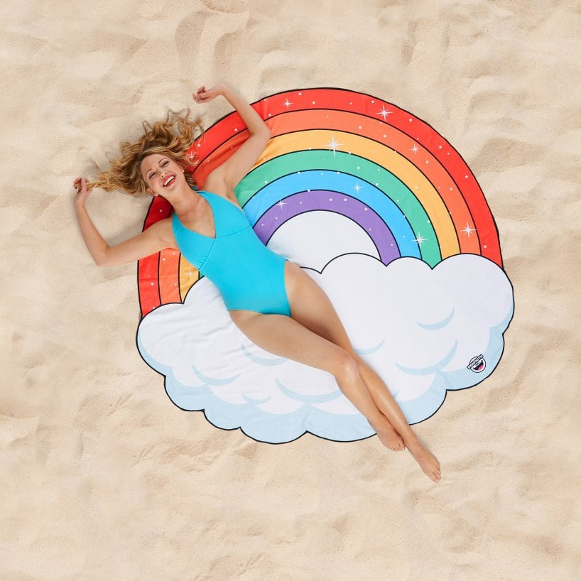 Regenbogen Strandtuch