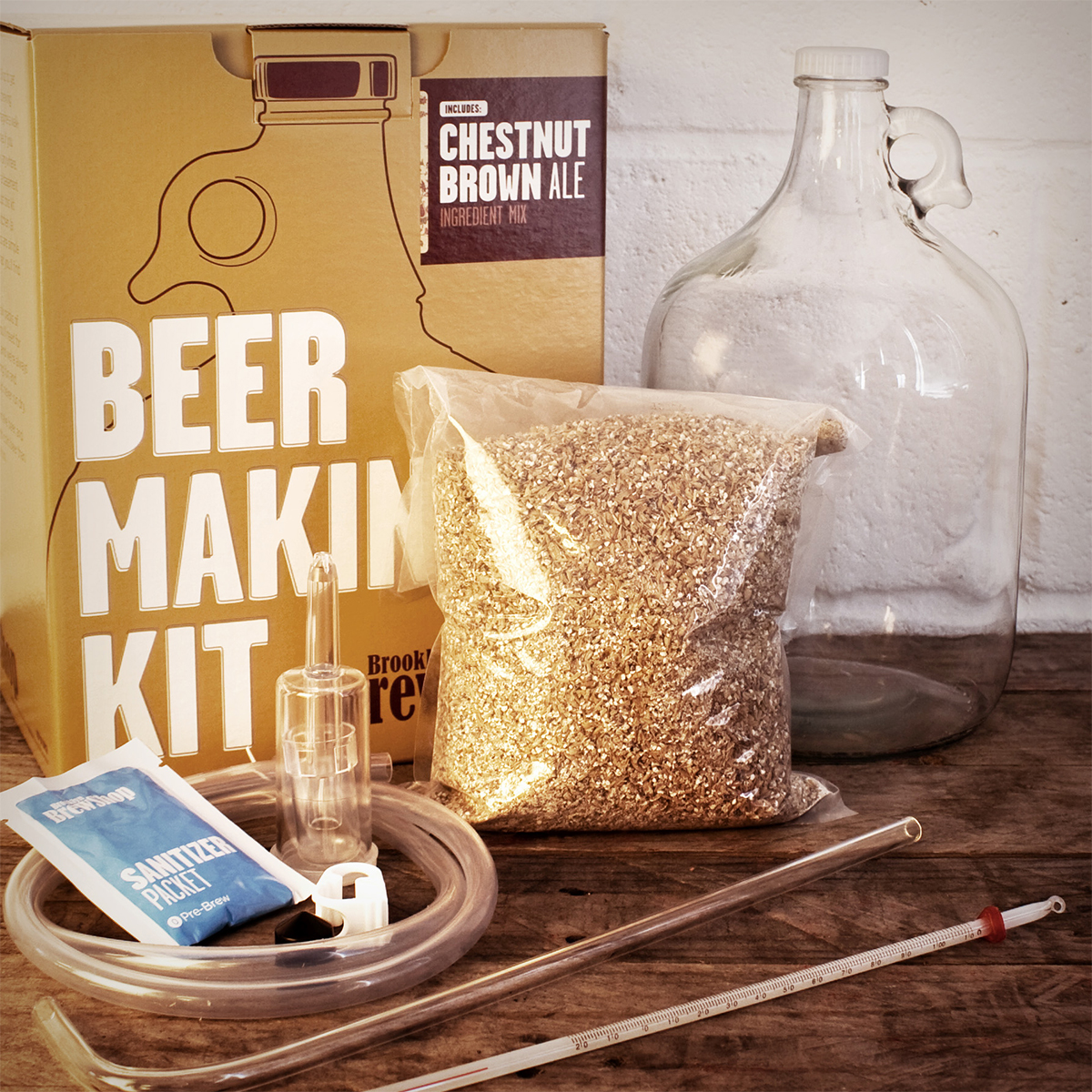 Brooklyn Brew Shop Bierbrau Set Afternoon Wheat Kit