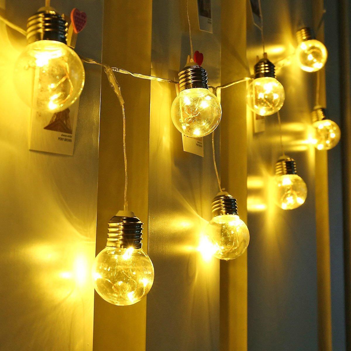 Mini Glühbirnen Lichterkette
